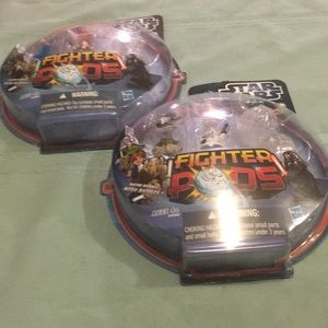 Pk of 2 Star Wars Fighter Pods Series 2 NEW 12 pcs